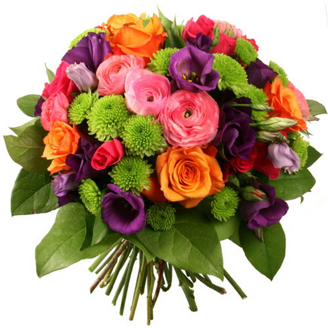 Букет цветов открытка