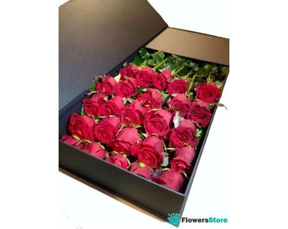 Flowers in a Box (Rose) 25 pcs.