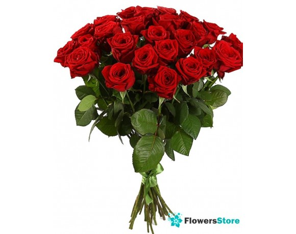 Bouquet of roses (25 red)